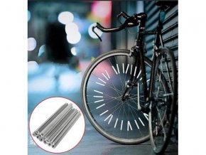 Tyčky na bicykel 4L 7527 reflexné