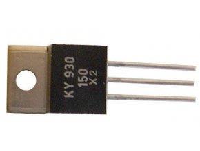 KY930 / 600 2x dióda uni 600V / 3A TO220