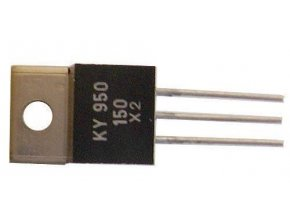 KY950 / 80 2x dióda uni 80V / 3A TO220
