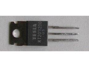 Tyristor KT201 / 200 200V / 3A 20mA TO220AB