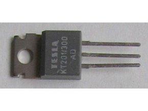 Tyristor KT201 / 300 300V / 3A 20mA TO220AB