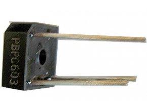 PBPC603 diódový mostík 300V = / 6A drôt