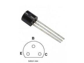 BC557B P UNI 45V / 0,1A 0,5W (ß = 180-460) TO92