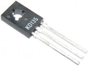 KD135 N 45V / 1,5A / 12,5W TO126