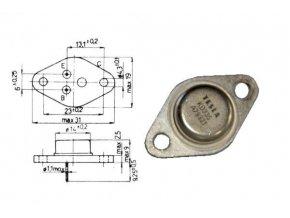 KD333 N 40V / 2A 20W TO66