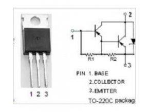 BD650 P Darl. 100V / 8A 65W TO220