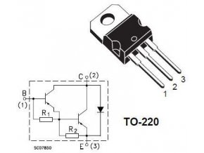 BDW93C N Darl. 100V / 12A 80W TO220