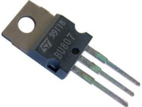 BU807 N 330V / 8A 60W darlington + dióda TO220