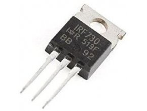 IRF730 N MOSFET 400V/4,5A 75W 1R TO220