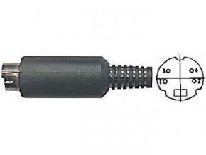 MiniDIN konektor 4 pin