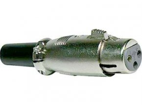 XLR zdierka 3P kábel XLR189