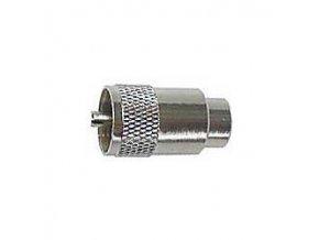 UHF konektor na kábel 10mm (RG8,213) TWIST ON