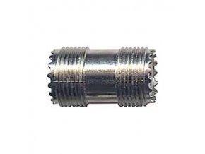 UHF spojka - 2x zdířka, L=30mm