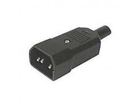Sieťová vidlica IEC60320 230V na kábel