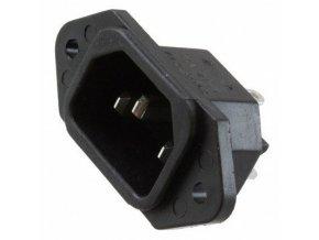 Sieťová vidlica IEC60320 230V na panel