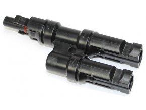 Rozbočenie MC4, 1x konektor, 2x zdierka