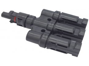 Rozbočenie MC4, 1x zdierka, 3x konektor