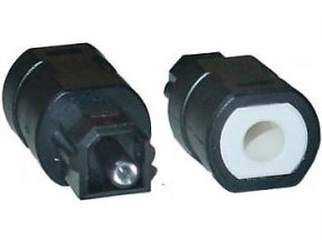 Redukcia minijack-Toslink pre optický kábel
