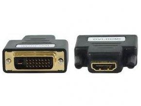 Redukcia HDMI (A) zdierka-DVI-D (24 + 1) konektor