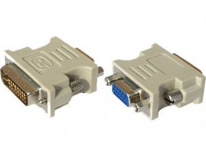 Redukcia VGA 15p zdierka - DVI-I (24 + 5) konektor