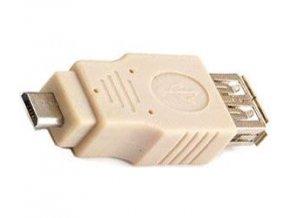 Redukcia USB (A) zdierka-USB (F) micro konektor