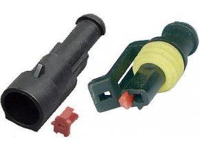 Konektor sa zdierkou DJ7011-1.5-11 + DJ7011-1.5-21 1P vodotesný