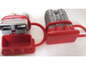 Prachovka pre prúdovú sponu 120A 600V - červená