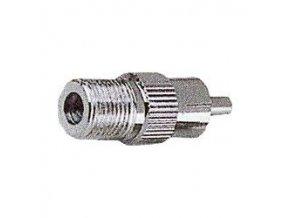 Redukcia F zdierka / CINCH (RCA) konektor