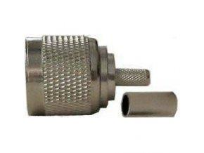 N konektor na koax 6mm crimpovací (RG59)