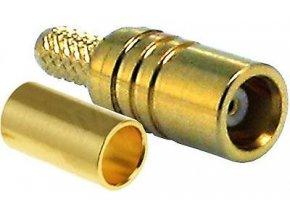 MCX zdierka lisovacie na koax 3mm (RG174)