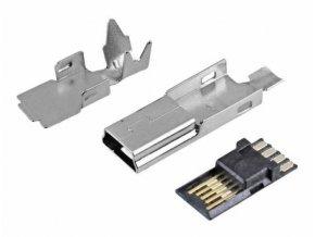 USB mini konektor káblový