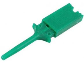 Meracie háčik zelený