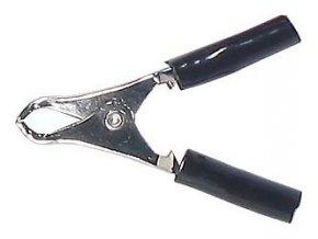 Svorka 10A čierna l = 50mm