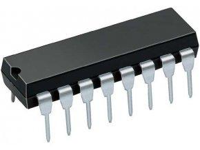 4099 8bitový adresovateľný střadač, DIL16
