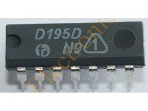 7495 - čtyřbitový posuvný register / D195D /