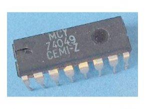 4049 6x budič invertujúci, DIL16 / MCY74049 /