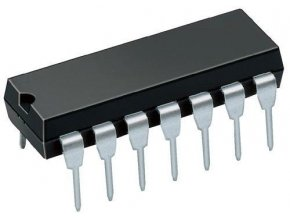 E140D 2x 4vstup. NAND, DIL14 / 7440, MH8440 /