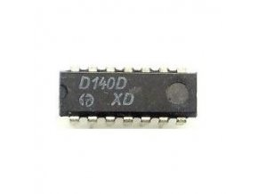 D140D 2x 4vstup. NAND, DIL14 / 7440, MH8440 /