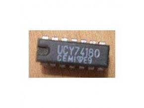 74180 8-bit.generátor parity, DIL14 / UCY74180 /