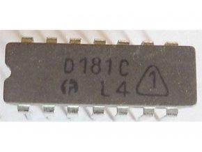 D181C - RAM 16bit, DIL14 / SN7481N /