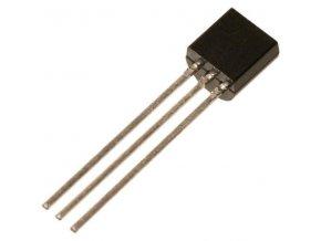 78L05 stabilizátor + 5V / 0,1A TO92