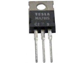 7815 stabilizátor + 15V / 1,5A TO220 TESLA / MA7815 /