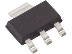 AMS1117-3.3 stabilizátor + 3,3V / 0,8A SOT-223