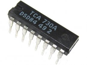 TCA730A / A273D / - obvod pre riadenie hlasitosti a balance