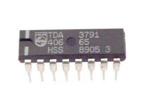 TDA3791 - prepínač rozsahu tunera, DIL16