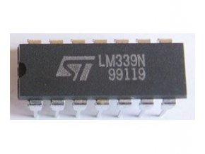 LM339N 4x napěť.komparátor DIL14