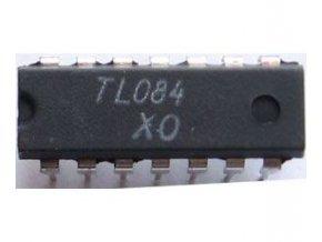TL084 / B084D / 4xOZ J-FET DIP14, RFT