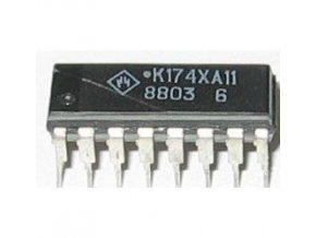 K174XA11 - DIL16 / A255D, TDA2593 /