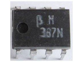 BM387N / LM387N / 2x NF zosilňovač, Ucc = 9-40V, DIP8