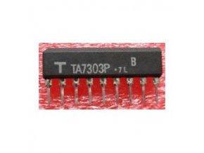 KIA7303P - MF zosilňovač SIP9 / TA7303 /